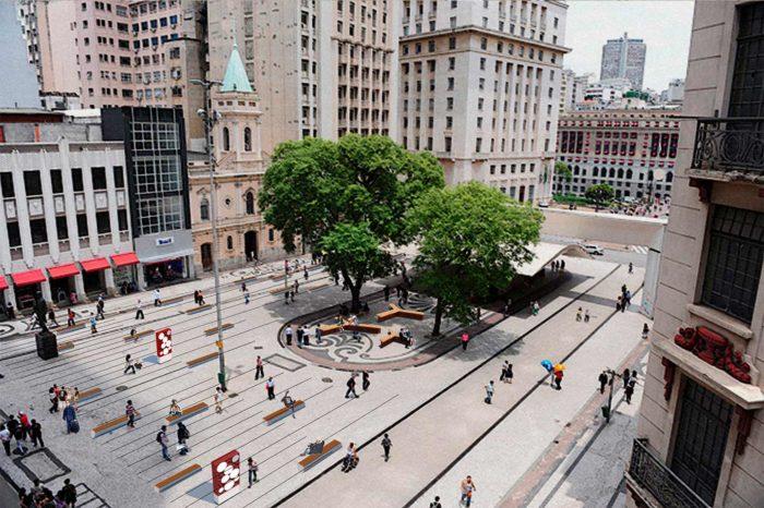 Triângulo histórico Sao Paulo