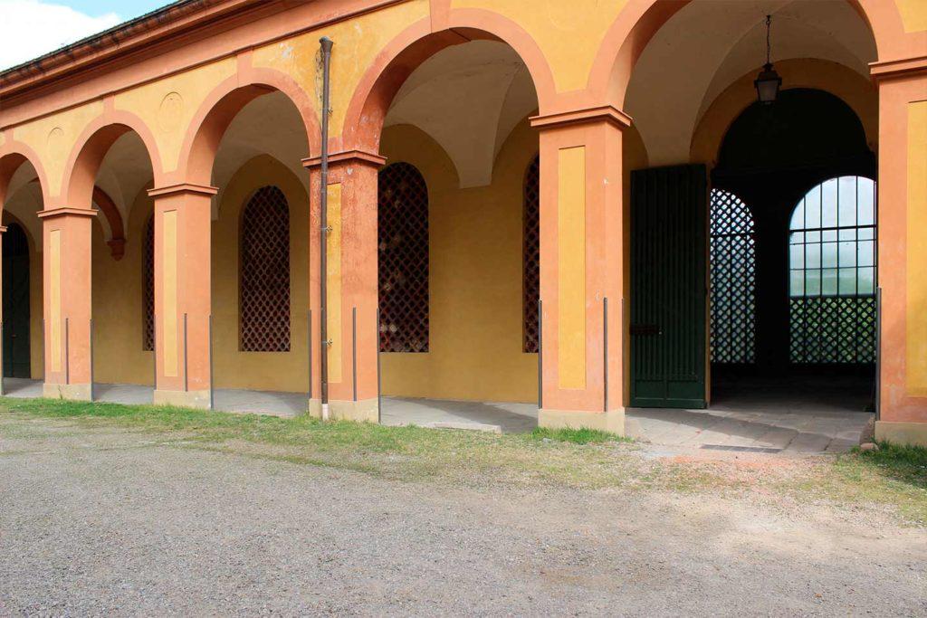 portico paglierie reali